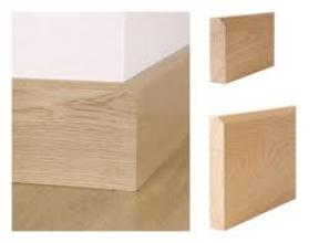 Oak skirtings